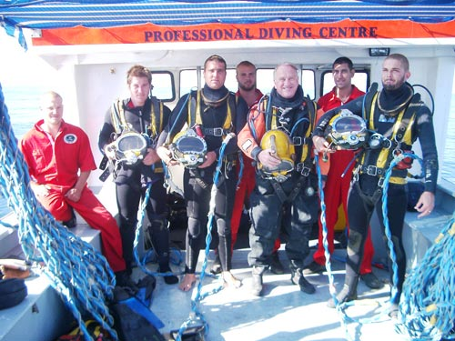 Commercial Diving Training, Commercial diving certificate, commercial diving school
